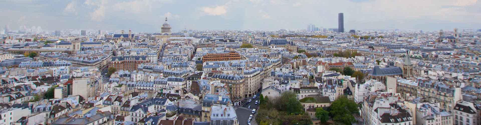 Paris - Auberges de jeunesse dans le quartier de Quartier Latin. Cartes pour Paris, photos et commentaires pour chaque auberge de jeunesse à Paris.