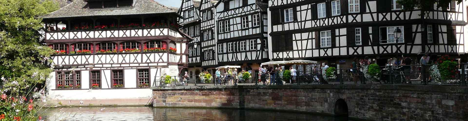 Strasbourg - Hôtels dans le quartier de Quartiers Centraux. Cartes pour Strasbourg, photos et commentaires pour chaque hôtel à Strasbourg.