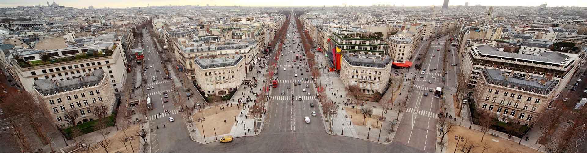 Paris - Auberges de jeunesse près de Boulevard Haussmann. Cartes pour Paris, photos et commentaires pour chaque auberge de jeunesse à Paris.