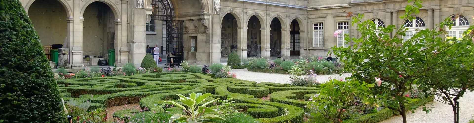 Paris - Hôtels près de Musée Carnavalet. Cartes pour Paris, photos et commentaires pour chaque Hôtel à Paris.