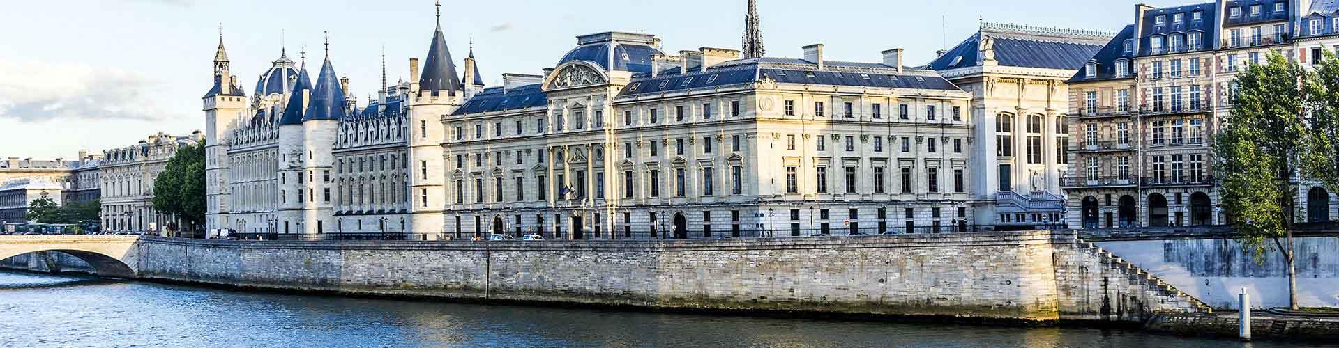 Paris - Auberges de jeunesse près de Conciergerie. Cartes pour Paris, photos et commentaires pour chaque auberge de jeunesse à Paris.