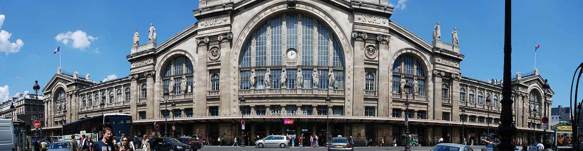 Paris - Chambres près de Gare du Nord. Cartes pour Paris, photos et commentaires pour chaque chambre à Paris.