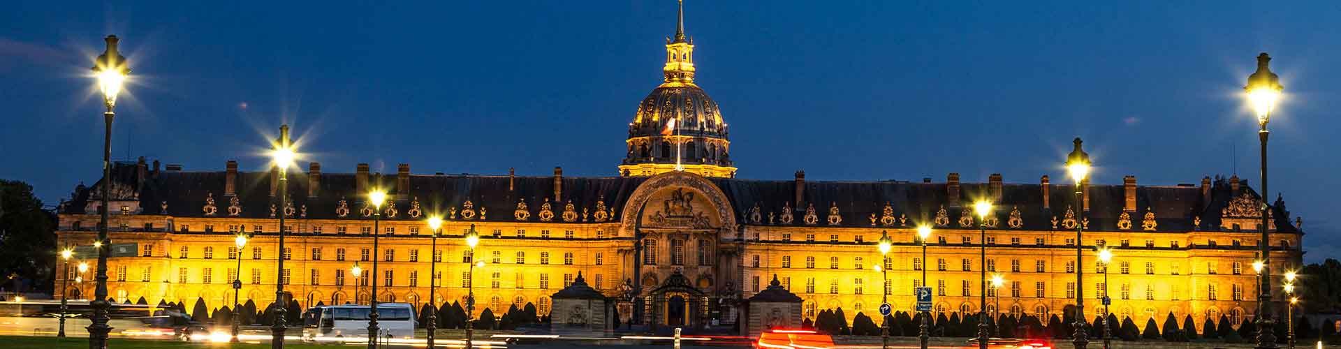 Paris - Chambres près de Les Invalides. Cartes pour Paris, photos et commentaires pour chaque chambre à Paris.