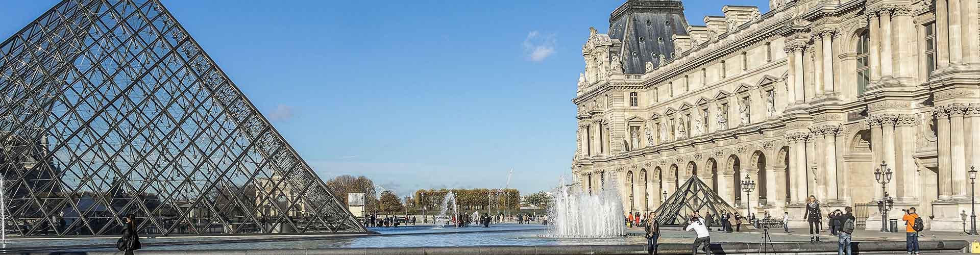 Paris - Auberges de jeunesse près de Louvre. Cartes pour Paris, photos et commentaires pour chaque auberge de jeunesse à Paris.