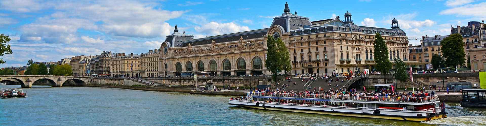 Paris - Auberges de jeunesse près de Musee d'Orsay. Cartes pour Paris, photos et commentaires pour chaque auberge de jeunesse à Paris.