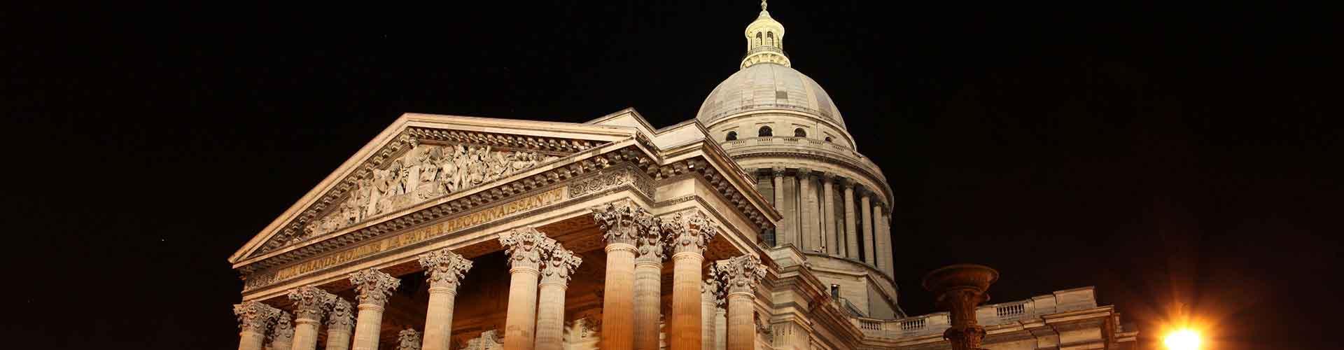 Paris - Chambres près de Panthéon. Cartes pour Paris, photos et commentaires pour chaque chambre à Paris.