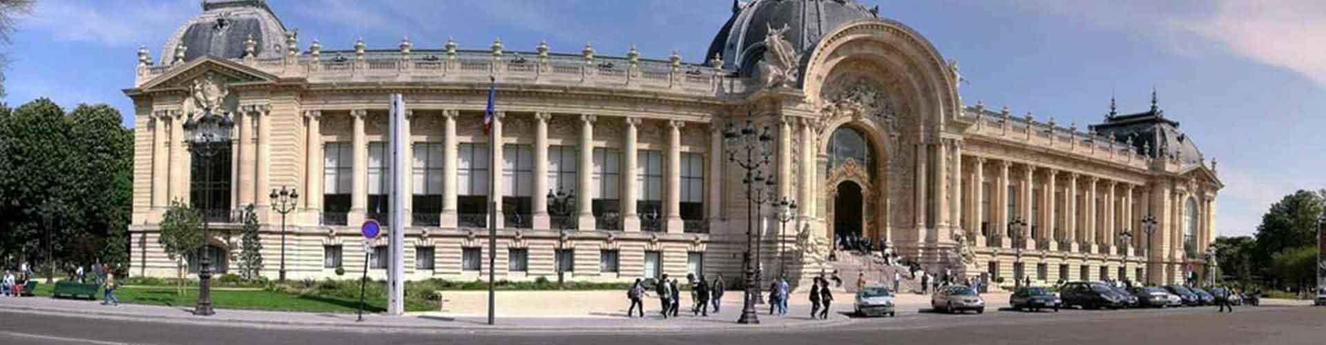 Paris - Auberges de jeunesse près de Petit Palais. Cartes pour Paris, photos et commentaires pour chaque auberge de jeunesse à Paris.