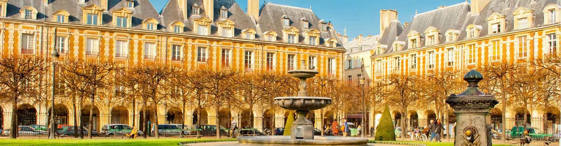 Paris - Hôtels près de Place Vendôme. Cartes pour Paris, photos et commentaires pour chaque Hôtel à Paris.