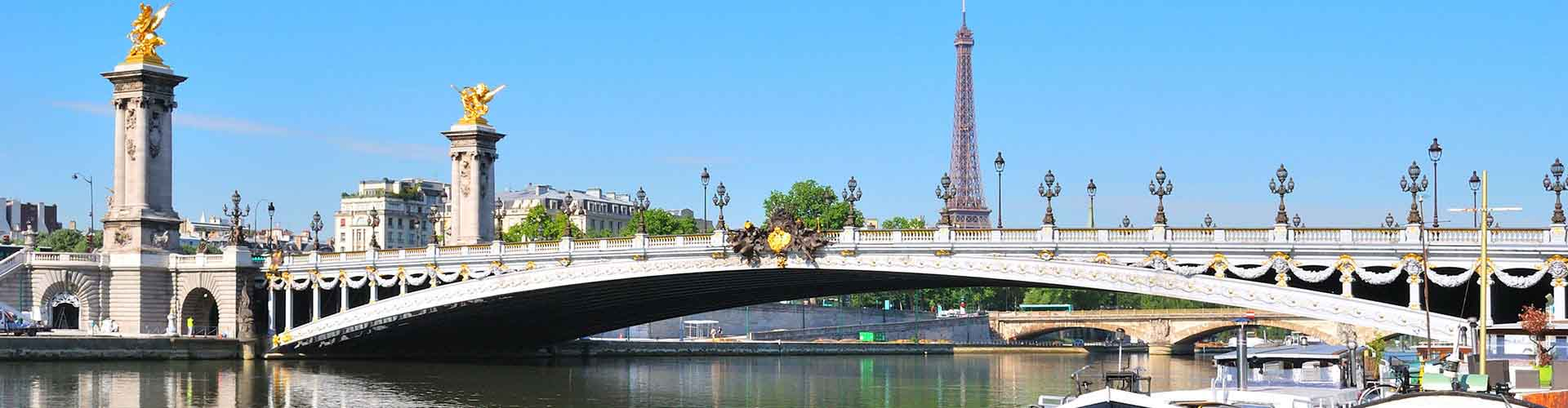 Paris - Camping près de Pont Alexandre III. Cartes pour Paris, photos et commentaires pour chaque camping à Paris.