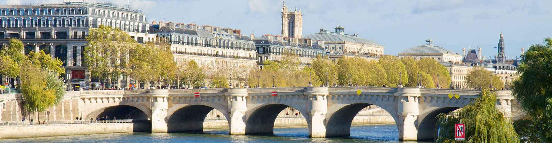 Paris - Hôtels près de Pont Neuf. Cartes pour Paris, photos et commentaires pour chaque Hôtel à Paris.