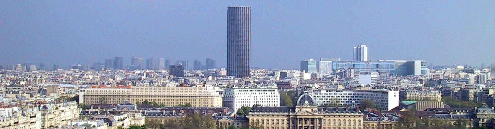 Paris - Hôtels près de Tour Montparnasse. Cartes pour Paris, photos et commentaires pour chaque Hôtel à Paris.