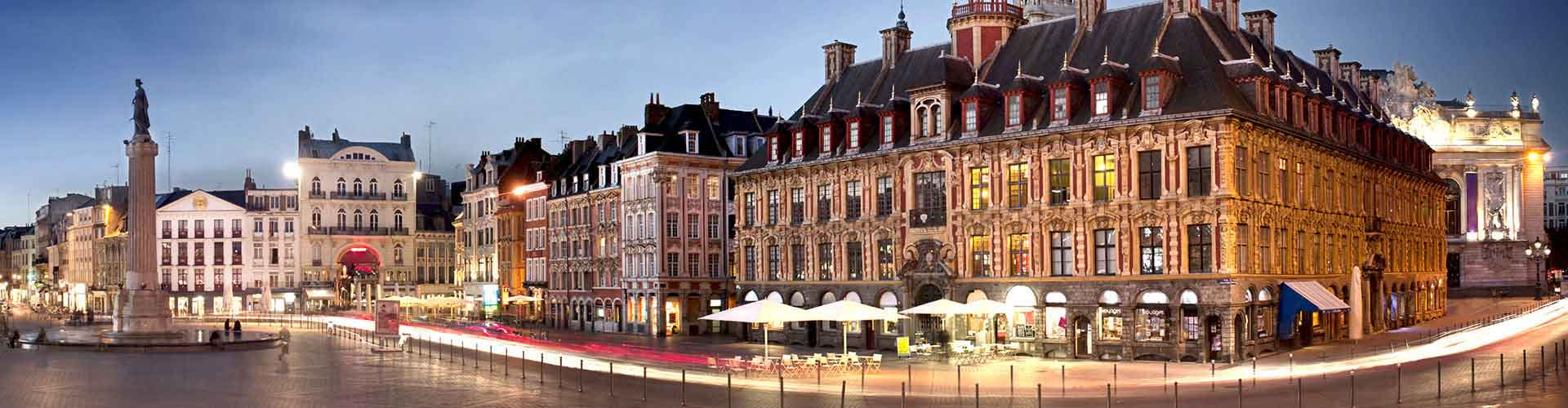 Lille - Chambres près de Gare de Lille-Flandres. Cartes pour Lille, photos et commentaires pour chaque chambre à Lille.
