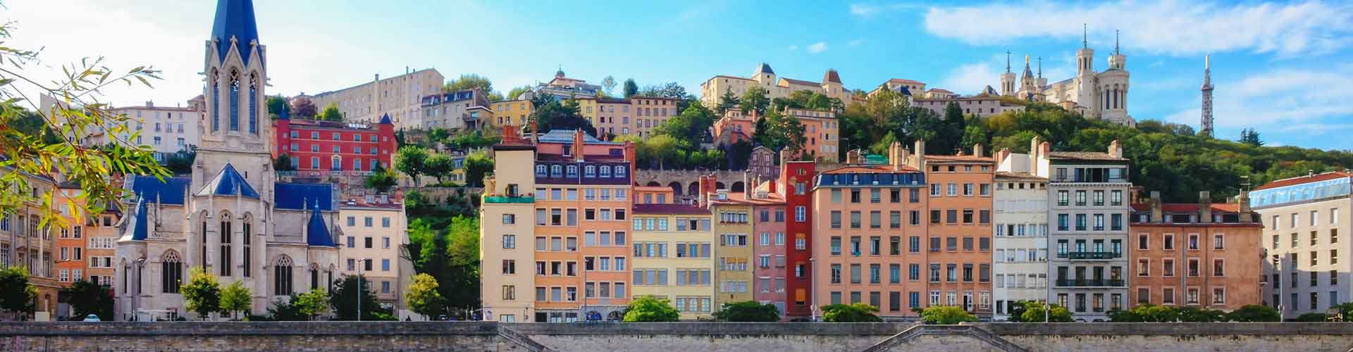 Lyon - Appartements dans le quartier de Champvert - Gorge de Loup. Cartes pour Lyon, photos et commentaires pour chaque appartement à Lyon.