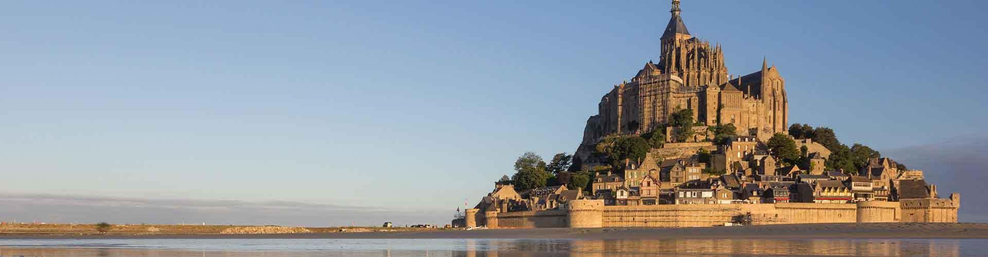 Mont St. Michel - Camping à Mont St. Michel. Cartes pour Mont St. Michel, photos et commentaires pour chaque Camping à Mont St. Michel.