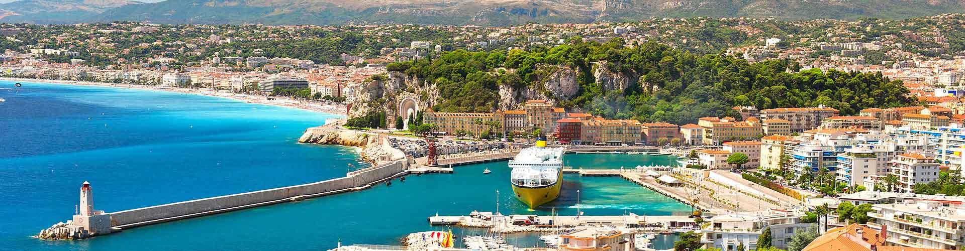Nice - Auberges de jeunesse à Nice. Cartes pour Nice, photos et commentaires pour chaque auberge de jeunesse à Nice.