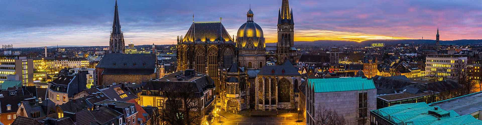 Aachen - Hôtels à Aachen. Cartes pour Aachen, photos et commentaires pour chaque hôtel à Aachen.