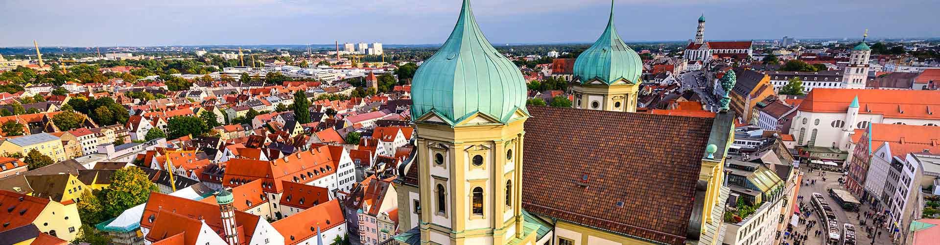 Augsburg - Appartments à Augsburg. Cartes pour Augsburg, photos et commentaires pour chaque appartement à Augsburg.