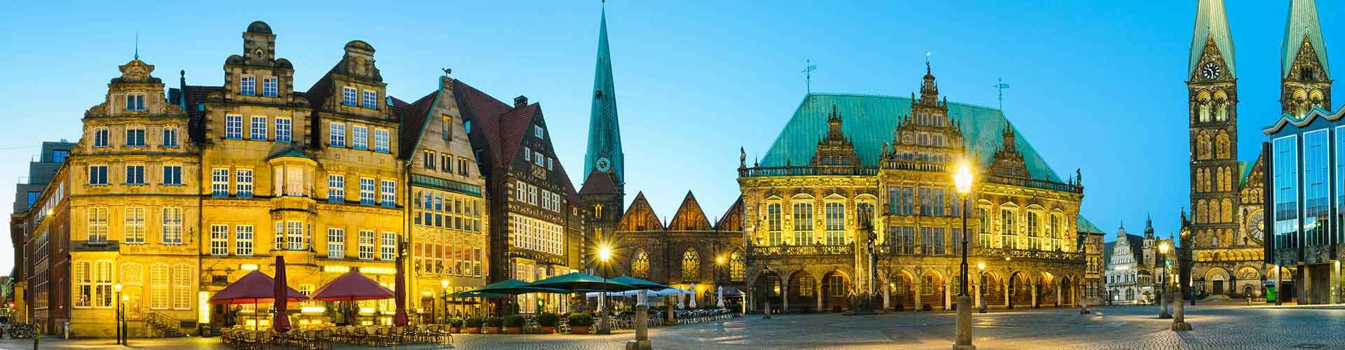 Bremen - Hôtels dans le quartier de Bremen-Mitte. Cartes pour Bremen, photos et commentaires pour chaque hôtel à Bremen.