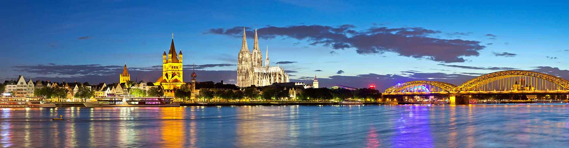 Cologne - Auberges de jeunesse dans le quartier de Riehl. Cartes pour Cologne, photos et commentaires pour chaque auberge de jeunesse à Cologne.