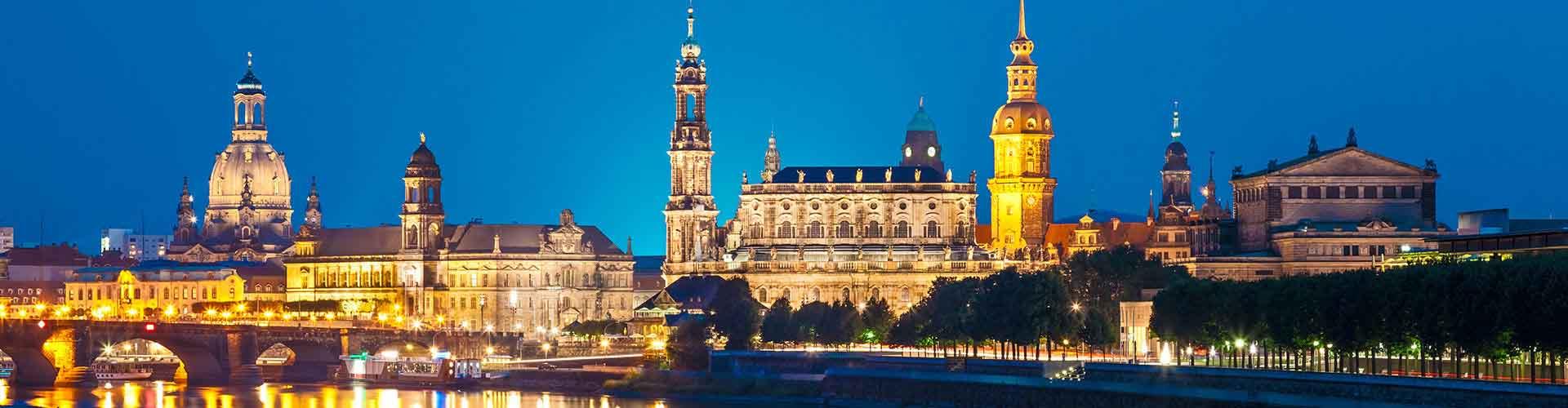 Dresde - Chambres pas chères dans le quartier de Innere Neustadt. Cartes pour Dresde, photos et commentaires pour chaque chambre à Dresde.