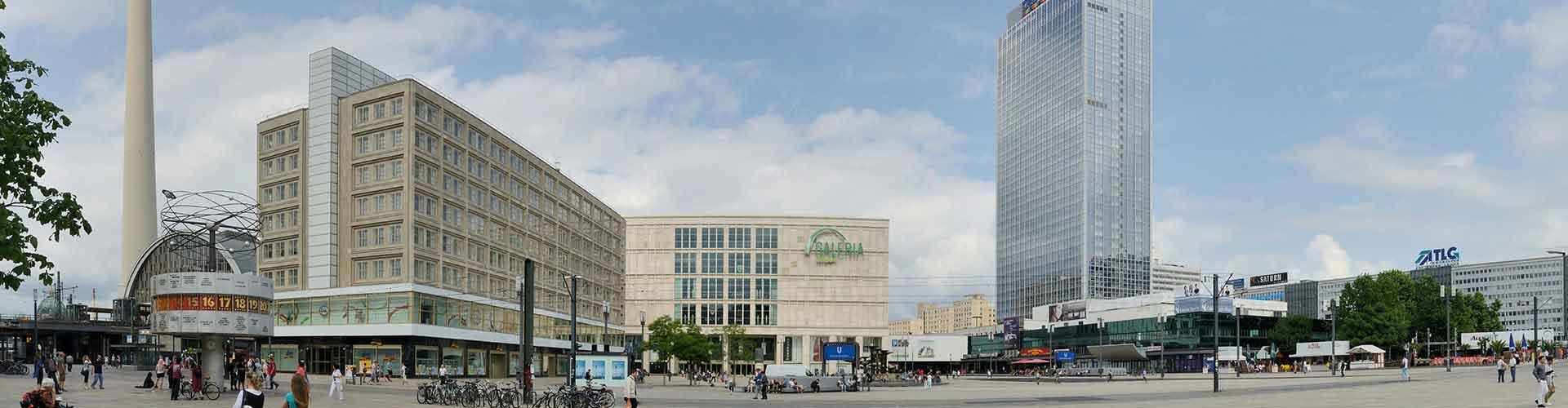 Berlin - Auberges de jeunesse près de Alexanderplatz. Cartes pour Berlin, photos et commentaires pour chaque auberge de jeunesse à Berlin.