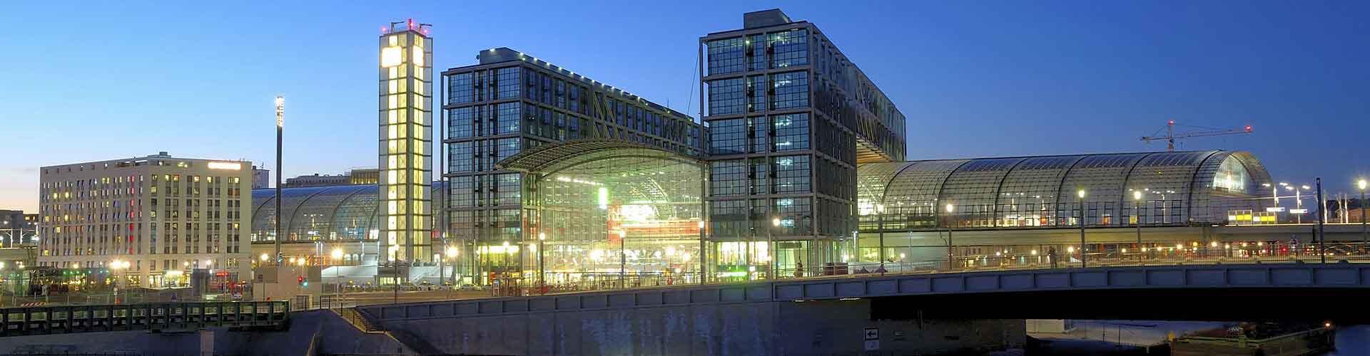 Berlin - Hôtels près de Gare centrale de Berlin. Cartes pour Berlin, photos et commentaires pour chaque Hôtel à Berlin.