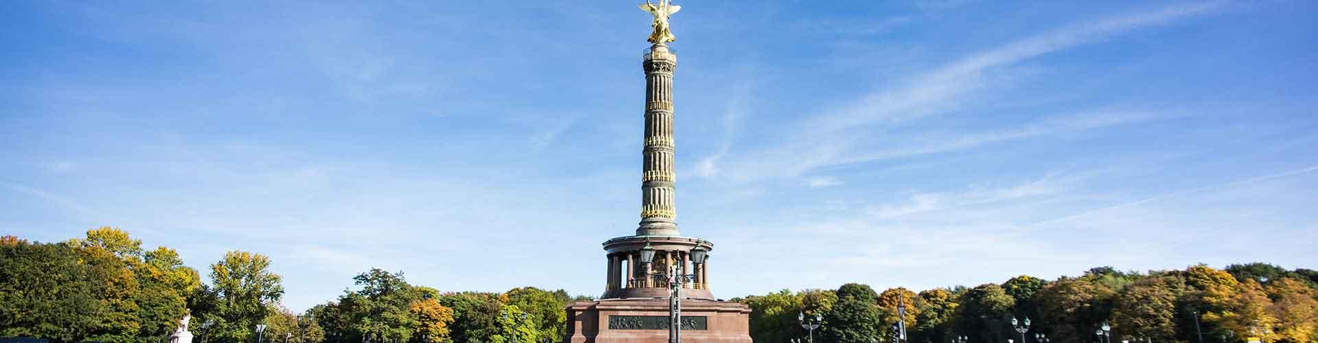 Berlin - Auberges de jeunesse près de Colonne de la Victoire à Berlin. Cartes pour Berlin, photos et commentaires pour chaque auberge de jeunesse à Berlin.