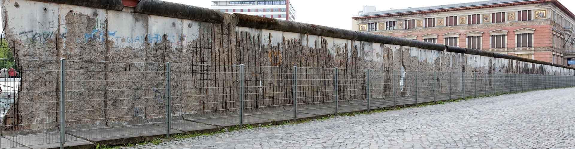 Berlin - Chambres près de Mur de Berlin. Cartes pour Berlin, photos et commentaires pour chaque chambre à Berlin.