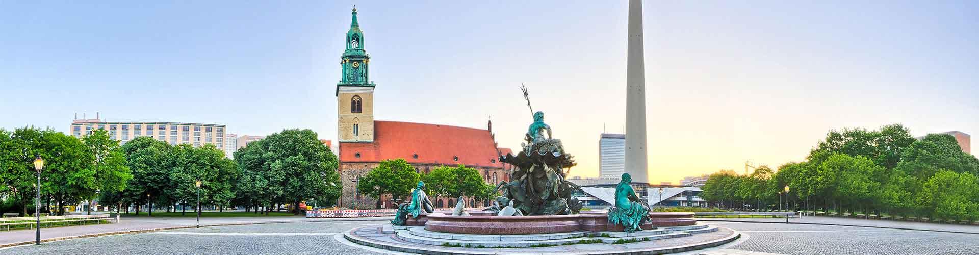 Berlin - Chambres près de Fernsehturm. Cartes pour Berlin, photos et commentaires pour chaque chambre à Berlin.