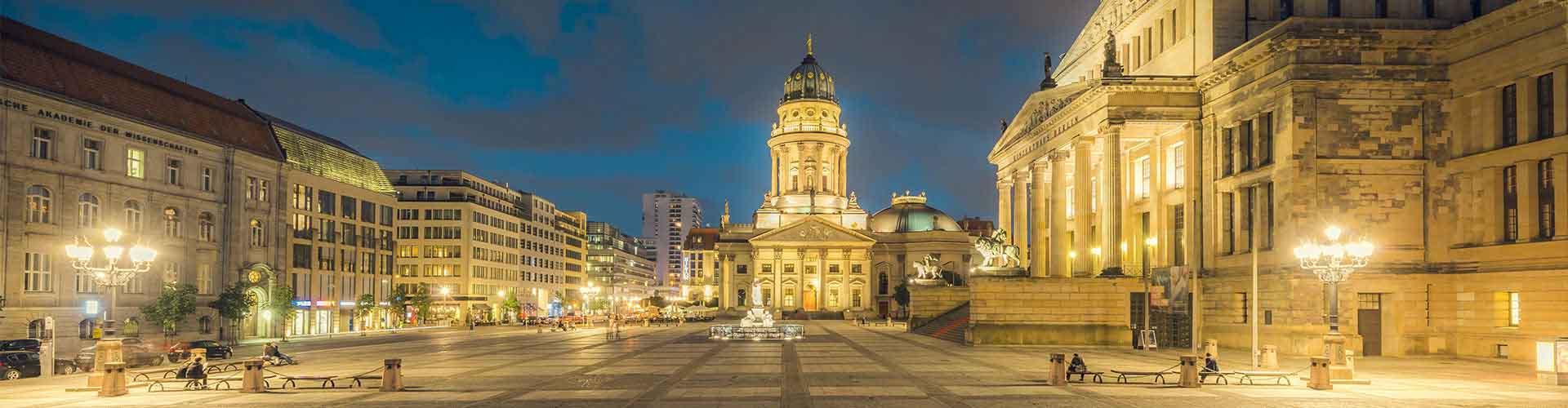 Berlin - Auberges de jeunesse près de Gendarmenmarkt. Cartes pour Berlin, photos et commentaires pour chaque auberge de jeunesse à Berlin.