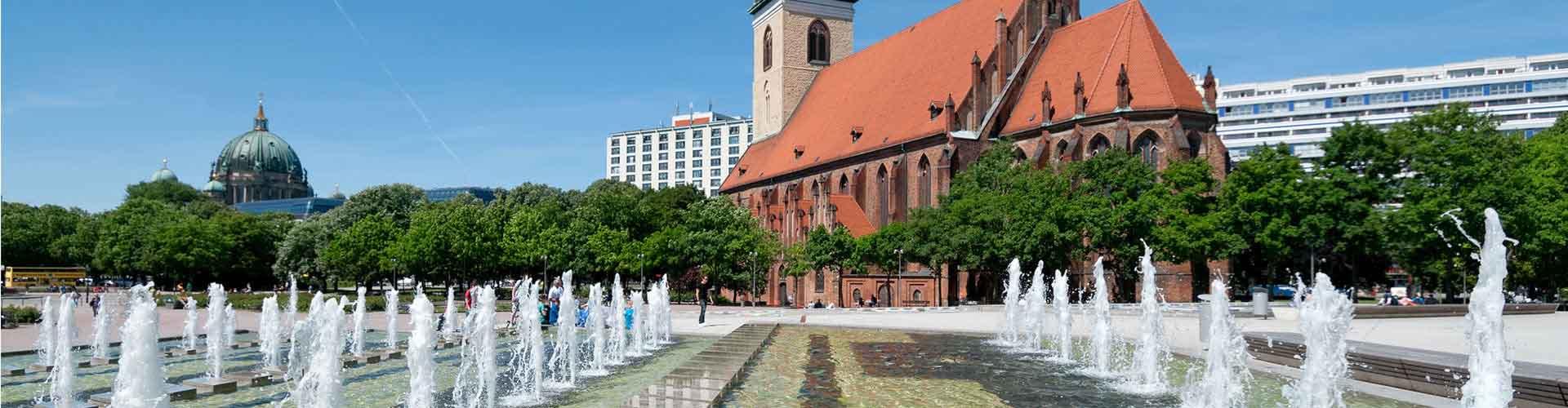Berlin - Auberges de jeunesse près de Marienkirche. Cartes pour Berlin, photos et commentaires pour chaque auberge de jeunesse à Berlin.