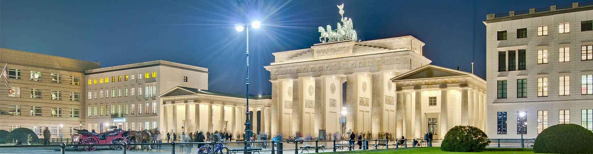 Berlin - Auberges de jeunesse près de Pariser Platz. Cartes pour Berlin, photos et commentaires pour chaque auberge de jeunesse à Berlin.