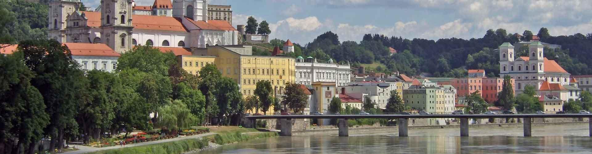 Passau - Chambres à Passau. Cartes pour Passau, photos et commentaires pour chaque chambre à Passau.