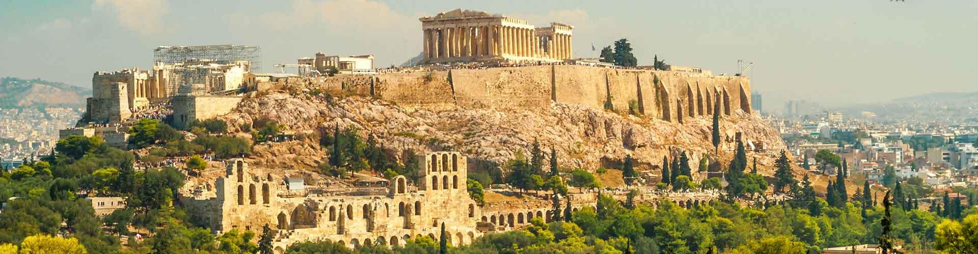Athenes - Hôtels dans le quartier de Plaka. Cartes pour Athenes, photos et commentaires pour chaque hôtel à Athenes.