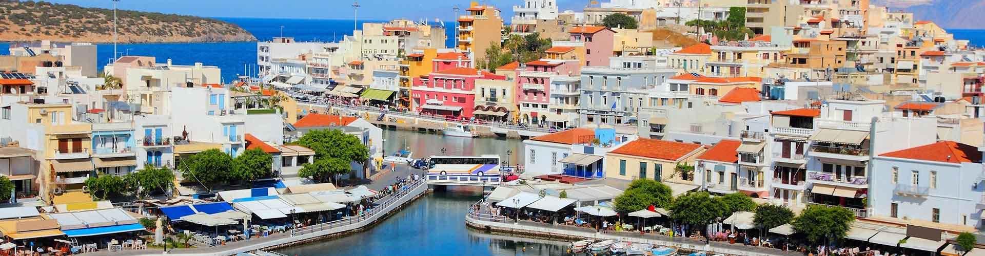 Crète - Camping à Crète. Cartes pour Crète, photos et commentaires pour chaque Camping à Crète.