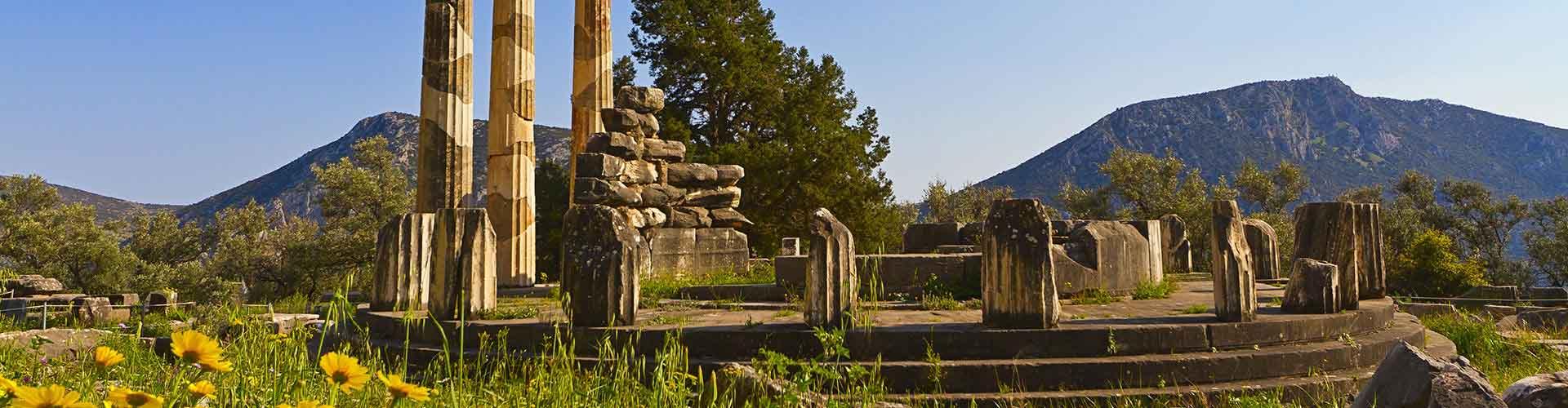 Delphi - Camping à Delphi. Cartes pour Delphi, photos et commentaires pour chaque Camping à Delphi.