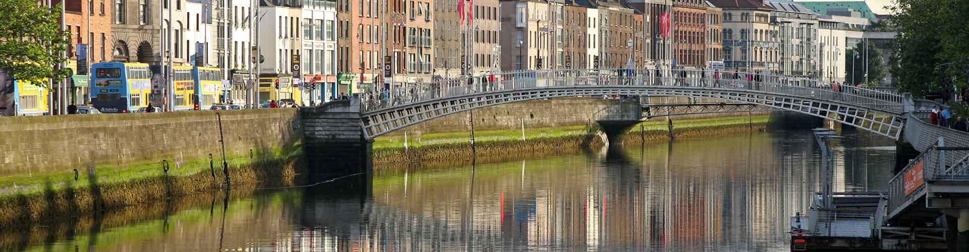 Dublin - Auberges de jeunesse dans le quartier de Centre-ville. Cartes pour Dublin, photos et commentaires pour chaque auberge de jeunesse à Dublin.