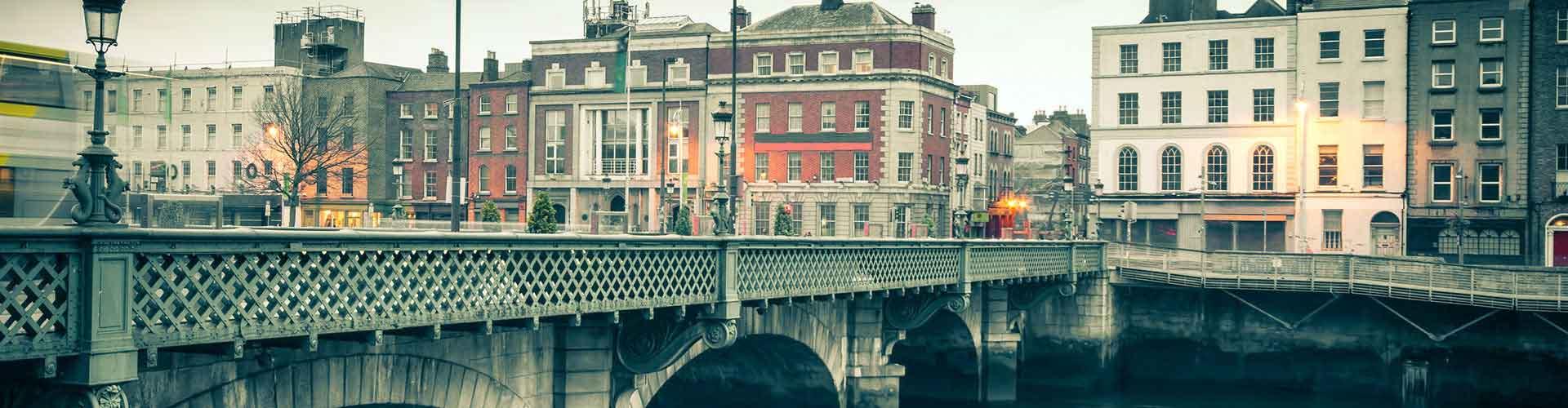 Dublin - Auberges de jeunesse dans le quartier de Sud Est de la ville intérieure. Cartes pour Dublin, photos et commentaires pour chaque auberge de jeunesse à Dublin.