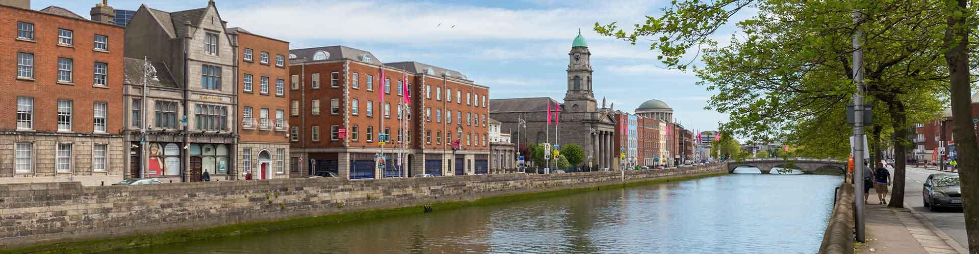 Dublin - Auberges de jeunesse près de City Center. Cartes pour Dublin, photos et commentaires pour chaque auberge de jeunesse à Dublin.