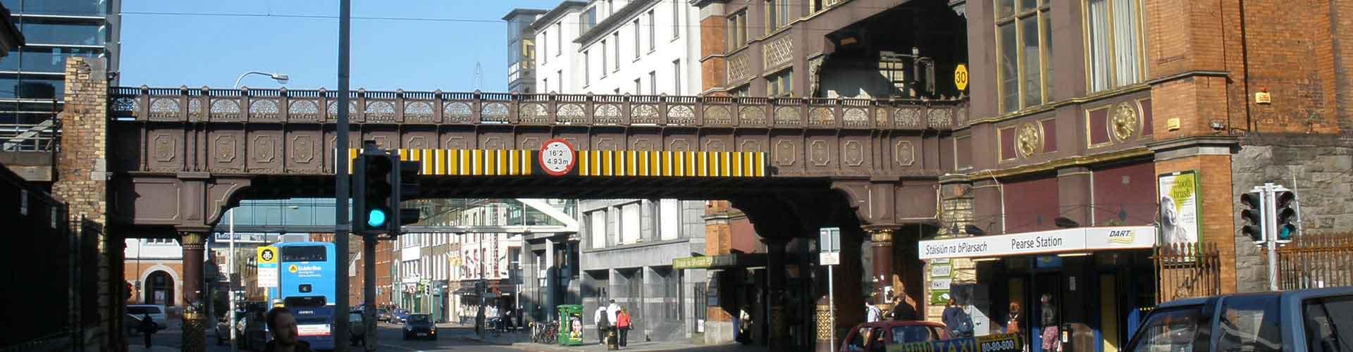 Dublin - Appartements près de Gare de Dublin Pearse. Cartes pour Dublin, photos et commentaires pour chaque appartement à Dublin.