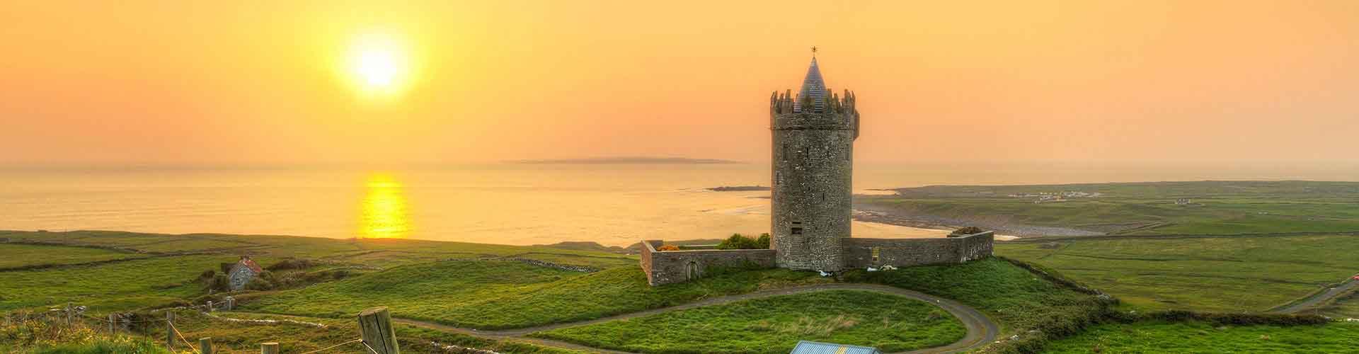 The Burren - Camping à The Burren. Cartes pour The Burren, photos et commentaires pour chaque Camping à The Burren.