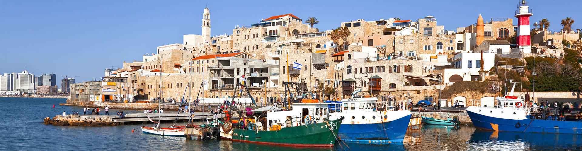 Tel Aviv - Hôtels dans le quartier de Kerem Hatemanim. Cartes pour Tel Aviv, photos et commentaires pour chaque hôtel à Tel Aviv.