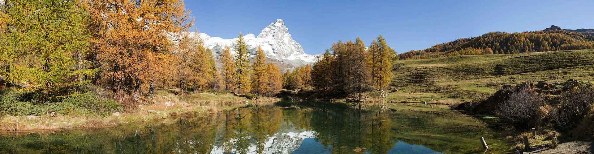 Aosta - Camping à Aosta. Cartes pour Aosta, photos et commentaires pour chaque Camping à Aosta.