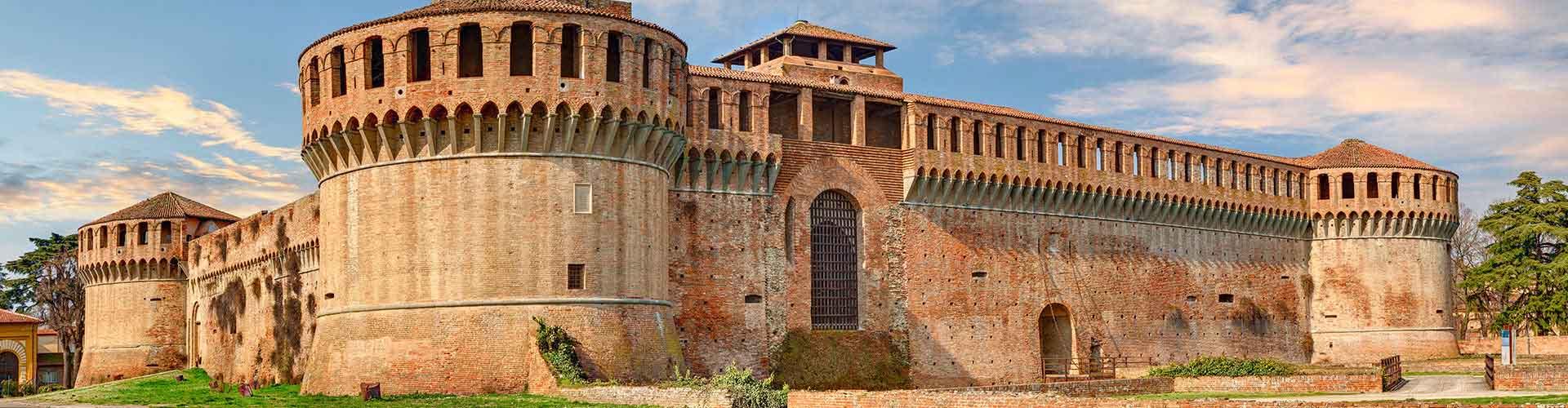 Bologna - Hôtels dans le quartier de Malpighi. Cartes pour Bologna, photos et commentaires pour chaque hôtel à Bologna.
