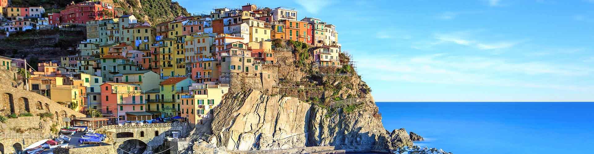 Cinque Terre - Hôtels à Cinque Terre. Cartes pour Cinque Terre, photos et commentaires pour chaque hôtel à Cinque Terre.