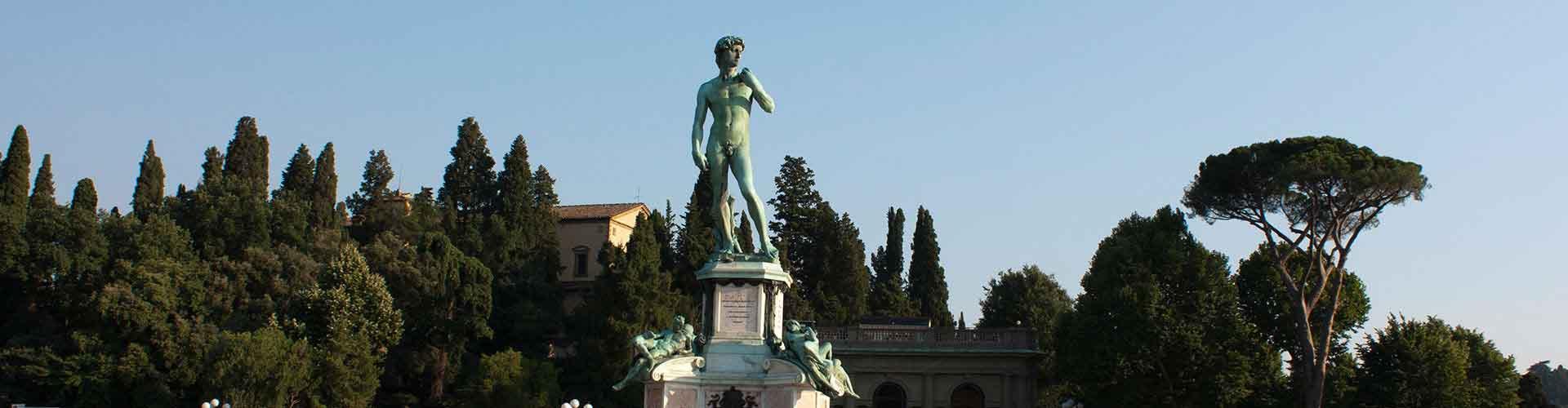 Florence - Chambres pas chères dans le quartier de Piazzale Michelangelo. Cartes pour Florence, photos et commentaires pour chaque chambre à Florence.