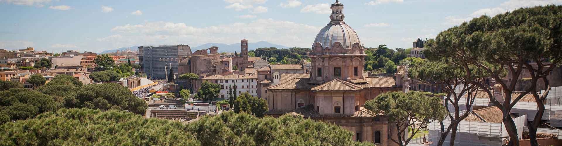 Rome - Auberges de jeunesse dans le quartier de Centre. Cartes pour Rome, photos et commentaires pour chaque auberge de jeunesse à Rome.