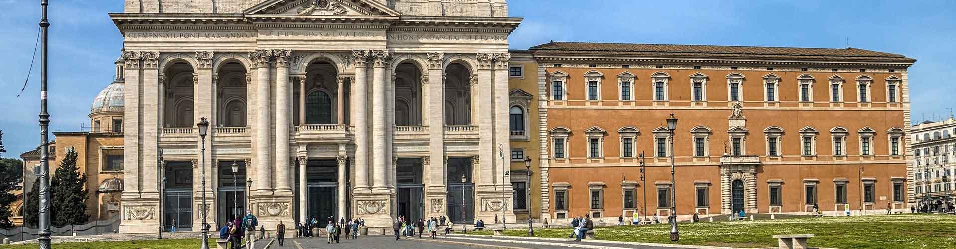 Rome - Hôtels dans le quartier de San Giovanni. Cartes pour Rome, photos et commentaires pour chaque hôtel à Rome.