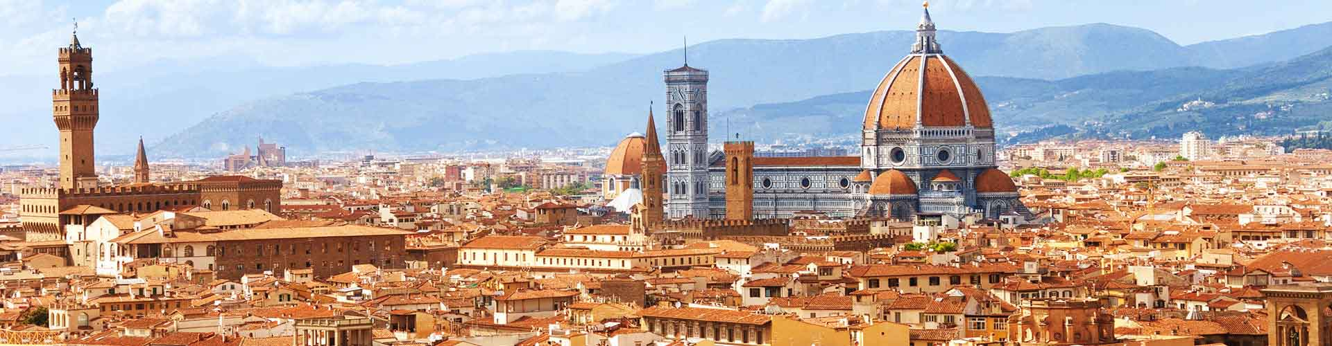 Florence - Chambres pas chères dans le quartier de Oltrarno. Cartes pour Florence, photos et commentaires pour chaque chambre à Florence.