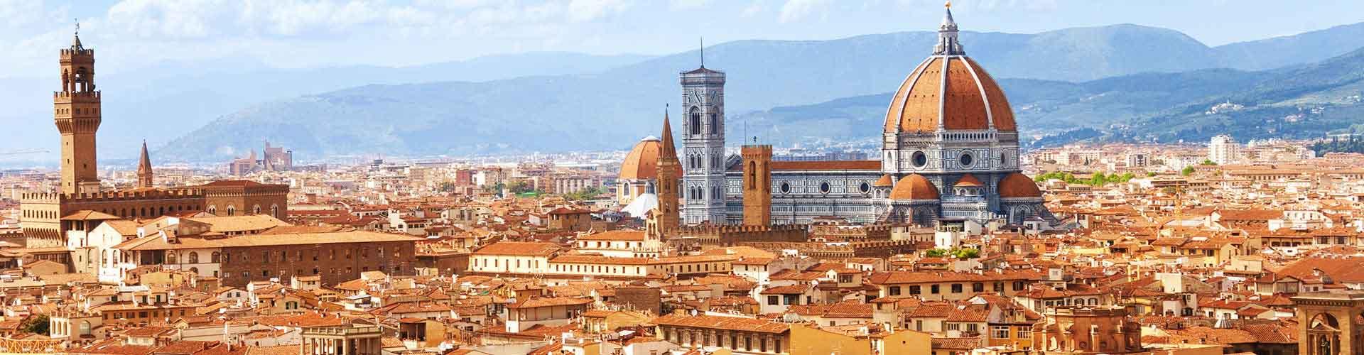 Florence - Camping dans le quartier de Giardino de Boboli. Cartes pour Florence, photos et commentaires pour chaque camping à Florence.